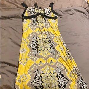 Style & Co maxi dress size L